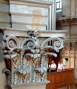 Temple de l'Oratoire - Chapiteau de la nef