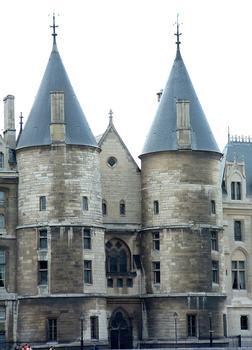Entrance to the Conciergerie, Paris