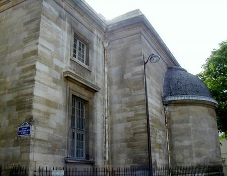 Eglise Saint-Philippe-du-Roule, Paris.Chevet