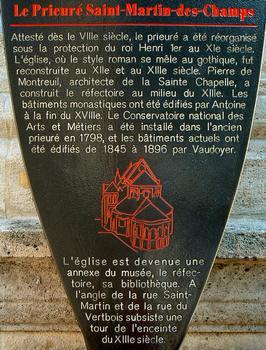 Priorat Saint-Martin-des-Champs, Paris