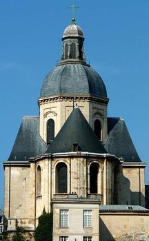Eglise Saint-Paul-Saint-LouisParis. Chevet