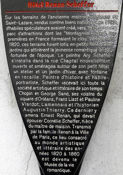 Paris - Musée de la Vie romantique