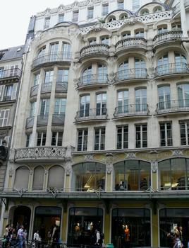 Immeuble Félix Potin - Façade sur la rue de Rennes