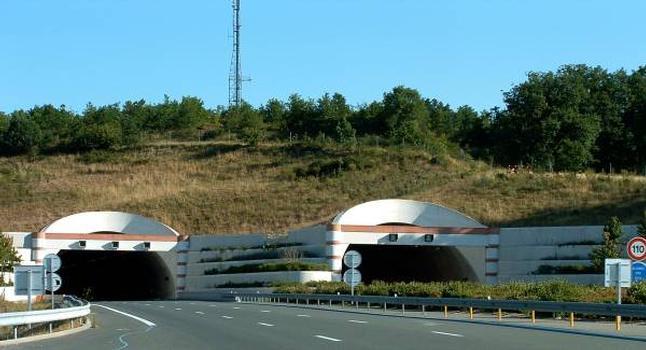 Tunnel de Pech Brunet (A20)