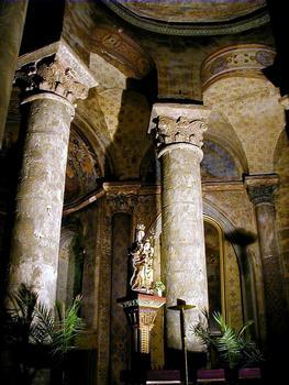 Eglise Notre-Dame-la-Grande - Choeur et statue de la Vierge