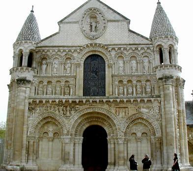 Eglise Notre-Dame-la-Grande - Façade occidentale