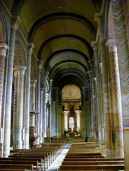 Eglise Notre-Dame-la-Grande - Vaiseau central