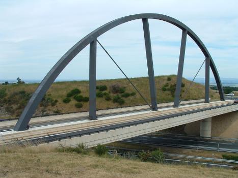 Pont de l'aire des Volcans d'Auvergne