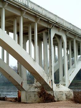 Pont du Fourneau - Un appui