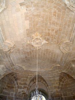 Centre hospitalier de Prémontré - Ancienne abbaye de Prémontré - Corps de logis central - Chapelle - Voûte