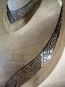 Centre hospitalier de Prémontré - Ancienne abbaye de Prémontré - Palais abbatial - Escalier suspendu