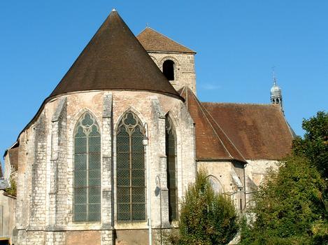 Provins - Eglise Saint-Ayoul - Chevet