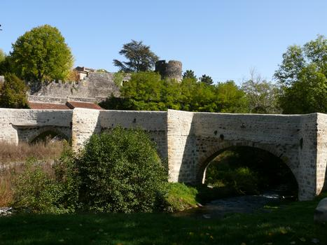 Saint-Amant-Tallende - Pont-Vieux & Schloss