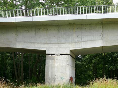 Brücke in Parentignat