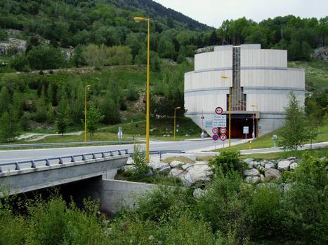 Tunnel de Puymorens - Entrée sud