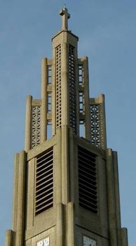 Eglise Notre-Dame du Raincy. Clocher - Détails