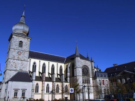 Remiremont - Ancienne abbatiale Saint-Pierre - Ensemble