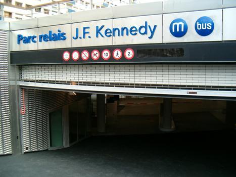 Rennes - parc relais J. F. Kennedy - Entrée