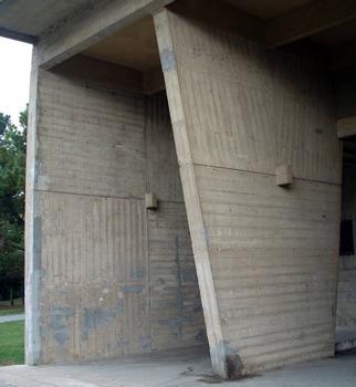 Cité radieuse, RezéVoiles porteurs - Parement