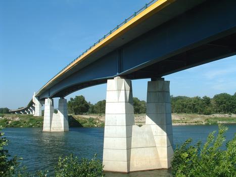 Pont Saint-Esprit - Nouveau pont - Ensemble