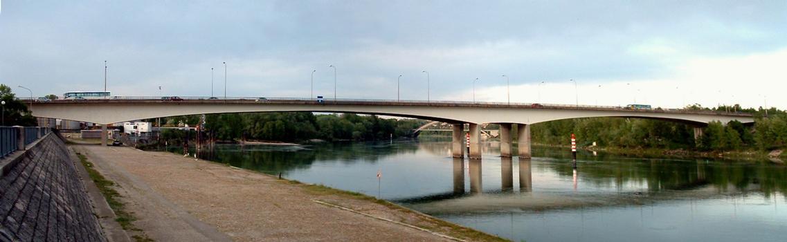 Pont autoroutier de Givors - Ensemble