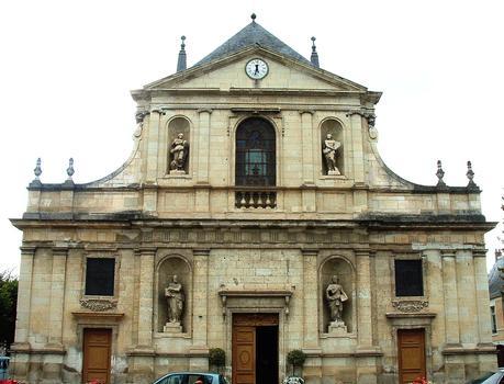 Richelieu - Eglise Notre-Dame-de-l'Assomption - Façade