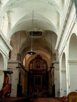 Richelieu - Eglise Notre-Dame-de-l'Assomption - Nef