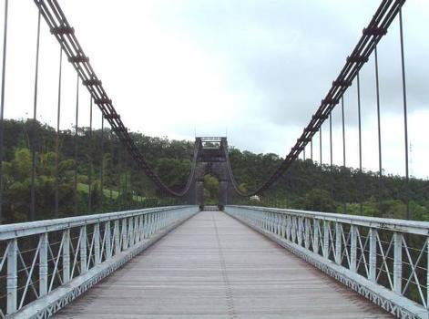 Pont suspendu de la Rivière de l'Est, La Réunion