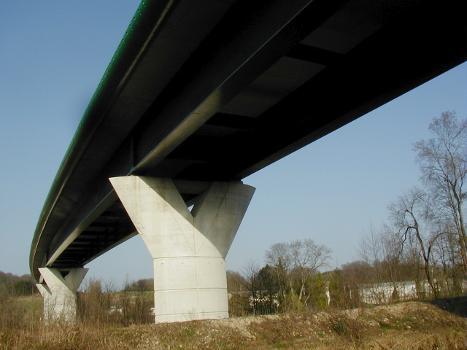 Viaduc de Marnaval, Saint-Dizier (RN4)