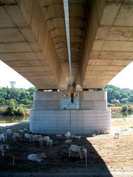 RN79 - Digoin Ring roadLoire BridgePiers