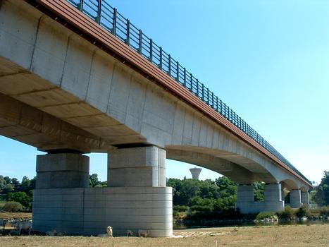 RN79 - Digoin Ring roadLoire BridgeOverall View