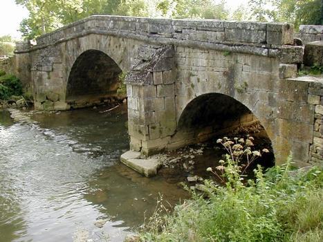 Römerbrücke oder Pont de Prégibert at Rolampont