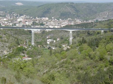 Roquebillère Viaduct in Cahors