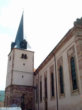 Rosheim - Eglise Saint-Etienne - Clocher roman
