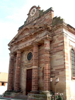Rosheim - Eglise Saint-Etienne - Façade principale