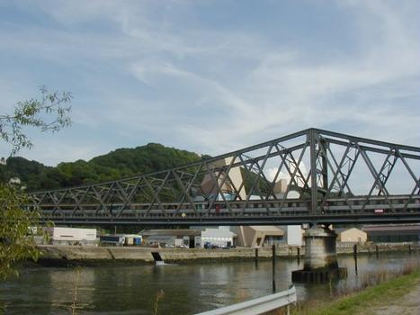 Epaulet-Eisenbahnbrücke in Rouen