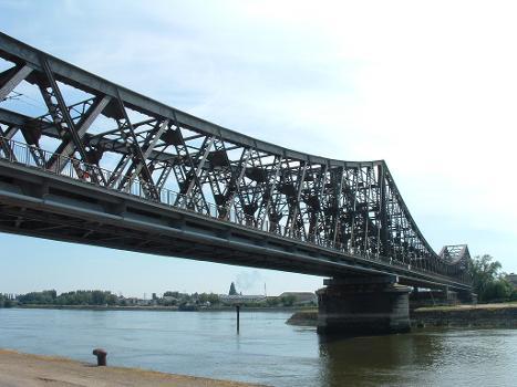 Eisenbahnbrücke, Rouen