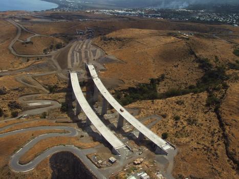 Route des Tamarins - Viaduc Bras-Boucan-Canot & Tunnel du Cap-la-Houssaye