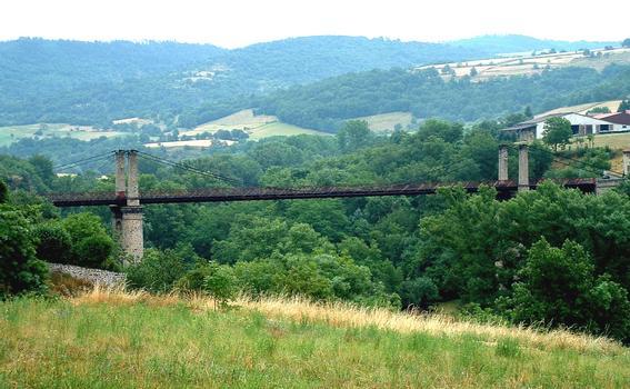 Pont suspendu de Saint-IlpizeEnsemble