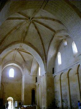 Abbaye de Saint-Avit-Sénieur.Elévation de l'église