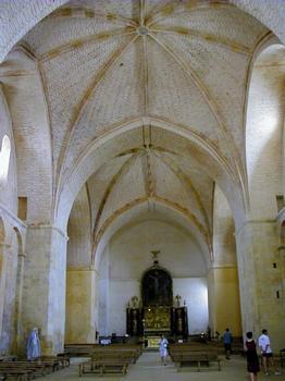 Abbaye de Saint-Avit-Sénieur.Nef de l'église