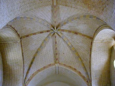 Abbaye de Saint-Avit-Sénieur.Voûte de l'église