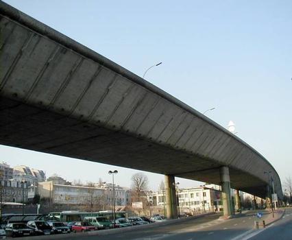 Autoroute A13 – Seinebrücke in Saint-Cloud