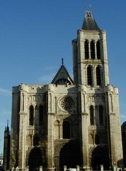 Abteikirche Saint-Denis. Westfassade