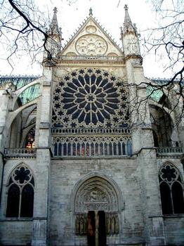 Abteikirche Saint-Denis. Nordportal