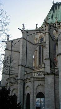 Abteikirche Saint-Denis. Chor