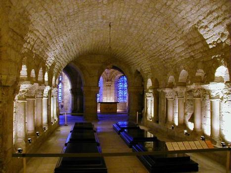 Abteikirche Saint-Denis. Krypta