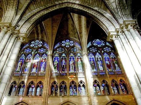 Abteikirche Saint-Denis. Hauptschiff
