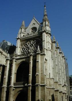 Sainte-Chapelle.Vue d'ensemble