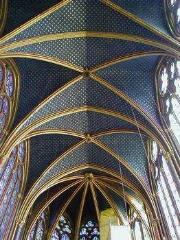 Sainte-Chapelle. Chapelle haute Voûte